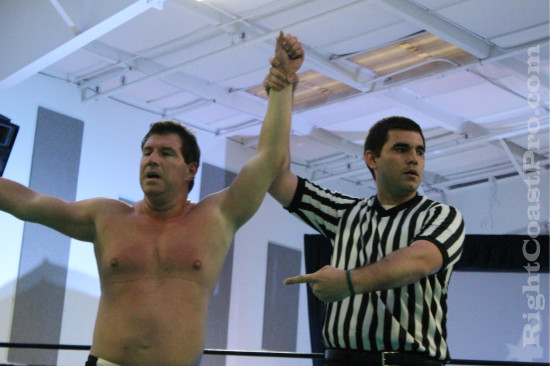 Gibbs Fontaine 5 RCP21 RightCoastPro Wrestling Delaware Community Entertainment Event