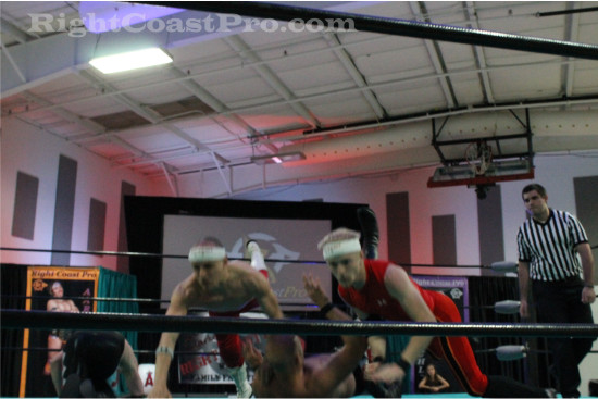 Heavyweights 4 RCP21 RightCoastPro Wrestling Delaware Community Entertainment Event