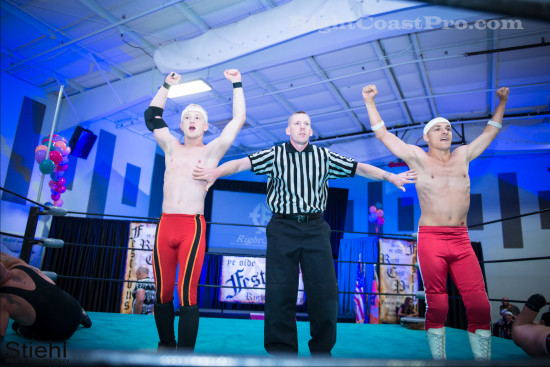 Heavyweights 1 RCP22 RightCoastPro Wrestling Delaware Festivus2015 Event