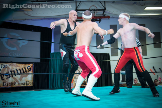 Heavyweights 3 RCP22 RightCoastPro Wrestling Delaware Festivus2015 Event