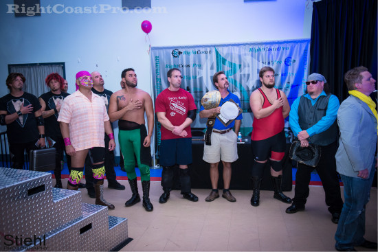 Anthem 5 RCP22 RightCoastPro Wrestling Delaware Festivus2015 Event