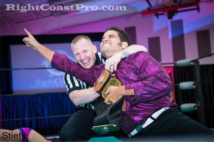 DiscoDave 1 RCP23 RightCoastPro Wrestling sports Delaware