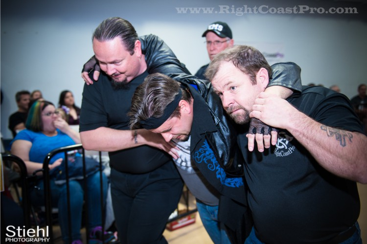 Live Singing StrangeHappenings Delaware Event RightCoastPro Wrestling 10