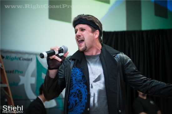 Live Singing StrangeHappenings Delaware Event RightCoastPro Wrestling 2