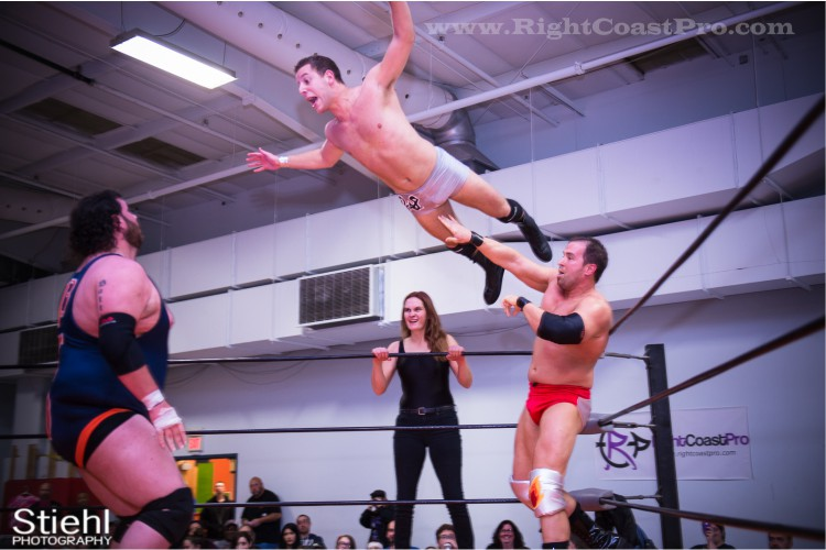 Intergender Tag 13 StrangeHappenings Delaware Event RightCoastPro Wrestling