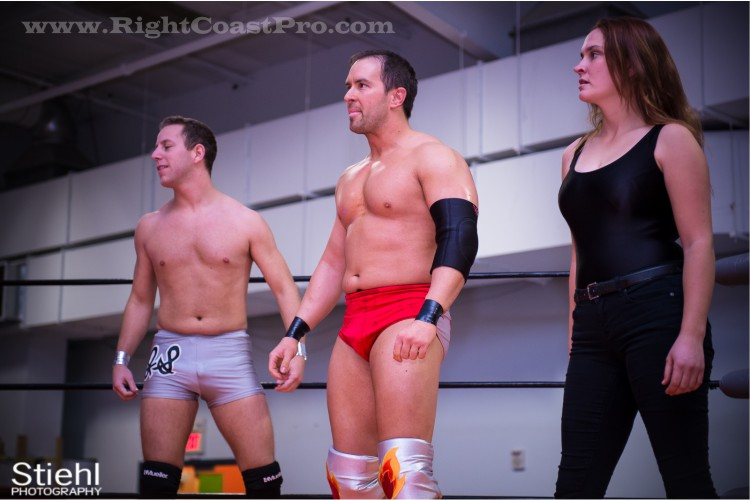 Intergender Tag 3 StrangeHappenings Delaware Event RightCoastPro Wrestling