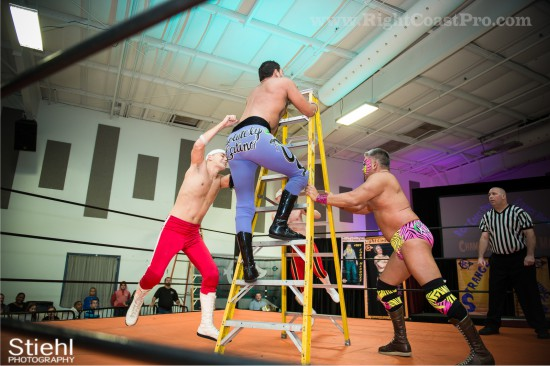 11 Ladder Match StrangeHappenings Delaware Event RightCoastPro Wrestling