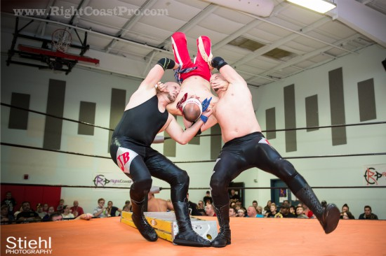 14 Ladder Match StrangeHappenings Delaware Event RightCoastPro Wrestling