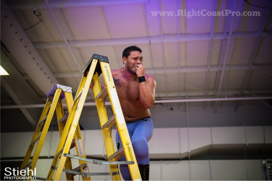 27 Ladder Match StrangeHappenings Delaware Event RightCoastPro Wrestling