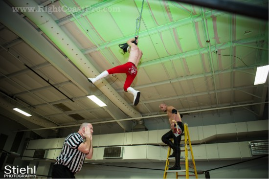 32 Ladder Match StrangeHappenings Delaware Event RightCoastPro Wrestling