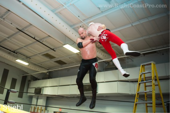 34 Ladder Match StrangeHappenings Delaware Event RightCoastPro Wrestling