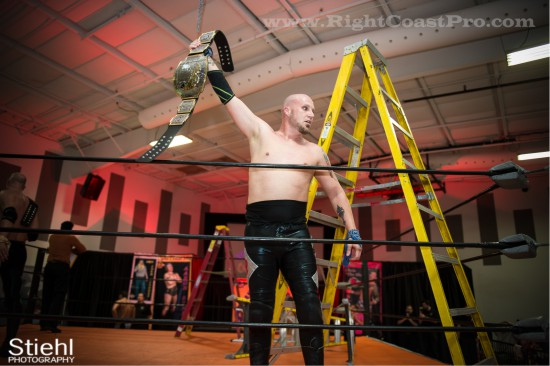 Jerry Baldwin Champion Delaware Event RightCoastPro Wrestling