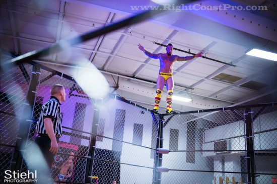 Chris Steeler StrangeHappenings Delaware Event RightCoastPro Wrestling