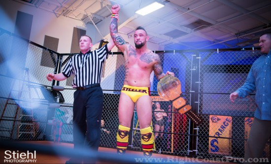champion StrangeHappenings Delaware Event RightCoastPro Wrestling