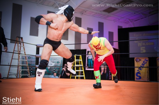 CourageousCruz X StrangeHappenings Delaware Event RightCoastPro Wrestling