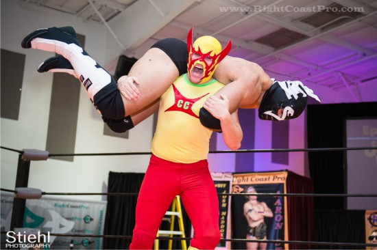 CourageousCruz X2 StrangeHappenings Delaware Event RightCoastPro Wrestling