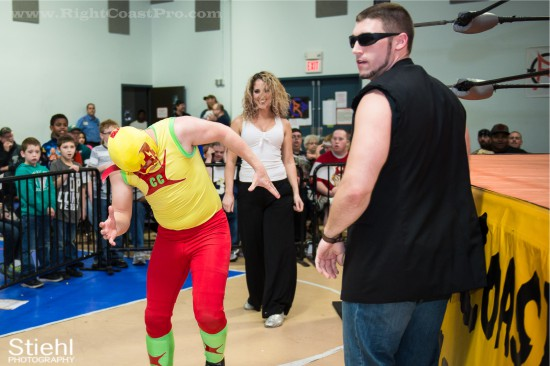 CourageousCruz X3 StrangeHappenings Delaware Event RightCoastPro Wrestling