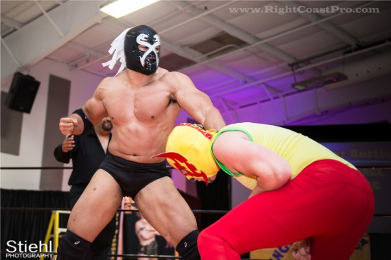 CourageousCruz x4 StrangeHappenings Delaware Event RightCoastPro Wrestling