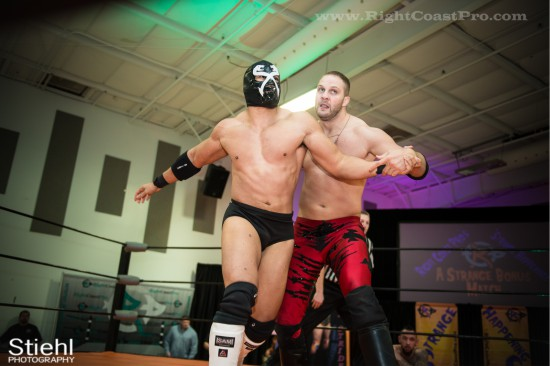 x 2 StrangeHappenings Delaware Event RightCoastPro Wrestling
