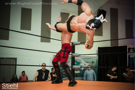 x 3 StrangeHappenings Delaware Event RightCoastPro Wrestling
