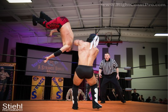 x 4 StrangeHappenings Delaware Event RightCoastPro Wrestling