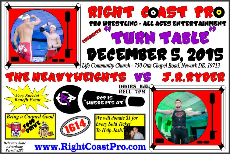 JR Ryder TURNTABLE RightCoastPro Entertainment Event