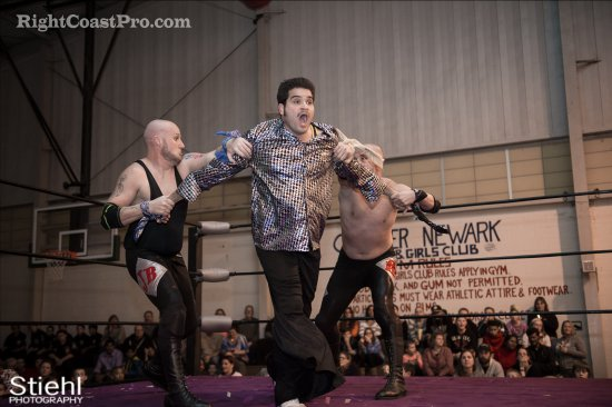 Baldwins 3 Studio54 RCP27 RightCoastPro Wrestling Delaware entertainment