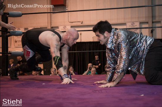 Baldwins 6 Studio54 RCP27 RightCoastPro Wrestling Delaware entertainment