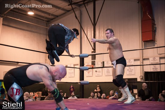 Baldwins 8 Studio54 RCP27 RightCoastPro Wrestling Delaware entertainment