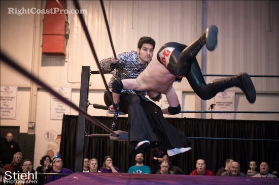 Baldwins 9 Studio54 RCP27 RightCoastPro Wrestling Delaware entertainment