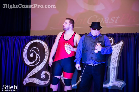 Chachi Ruby 2 RCP27 RightCoastPro Wrestling Delaware entertainment