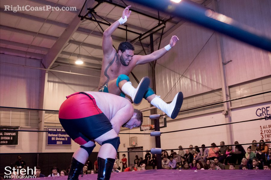 Chachi Ruby RCP27 RightCoastPro Wrestling Delaware entertainment