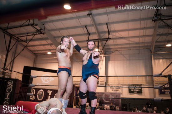 Heavyweights BTY 10 RCP27 RightCoastPro Wrestling Delaware entertainment