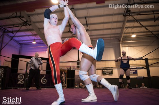Heavyweights BTY 3 RCP27 RightCoastPro Wrestling Delaware entertainment