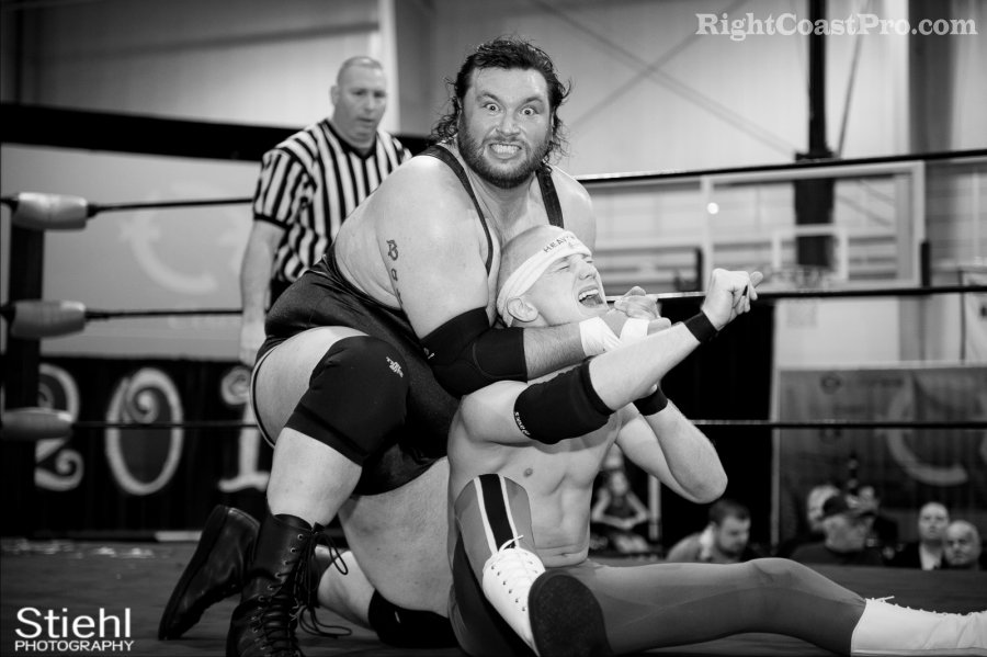 Heavyweights BTY 900 RCP27 RightCoastPro Wrestling Delaware entertainment