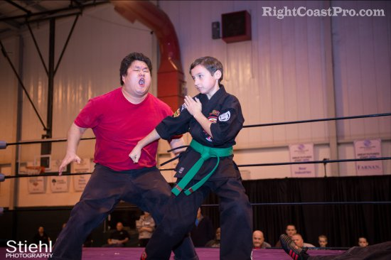 Newark KenpoKarate 4 RCP27 RightCoastPro Wrestling Delaware