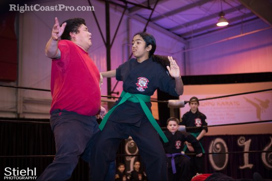 Newark KenpoKarate 5 RCP27 RightCoastPro Wrestling Delaware