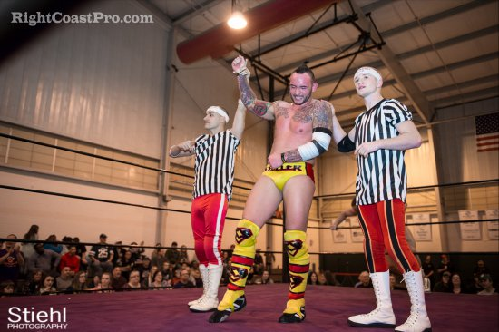 Steeler Chandler 10 RCP27 RightCoastPro Wrestling Delaware entertainment