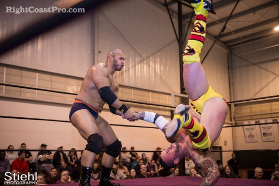 Steeler Chandler 3 RCP27 RightCoastPro Wrestling Delaware entertainment