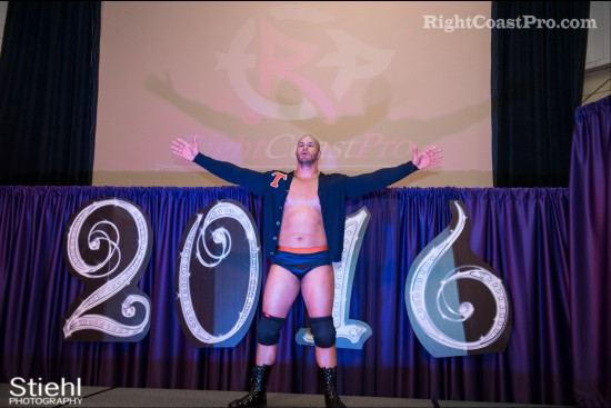 chandler entrance RCP27 RightCoastPro Wrestling Delaware entertainment