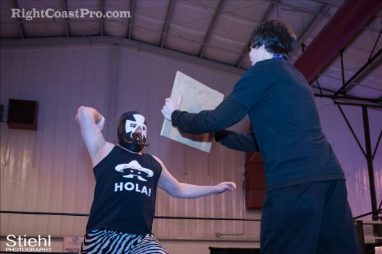 Pedro Duro 5 RCP27 RightCoastPro Wrestling Delaware entertainment