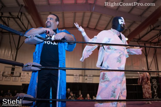 Pedro Duro RCP27 RightCoastPro Wrestling Delaware entertainment