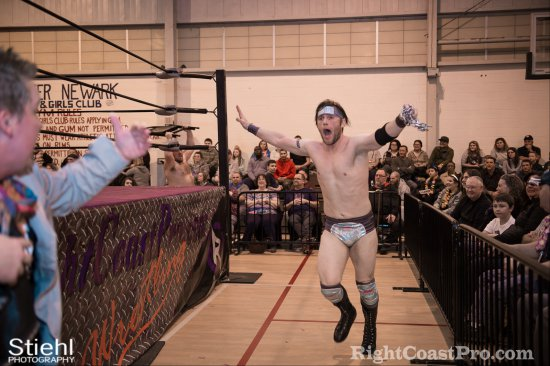 Wildlife William Fitz 10 RCP27 RightCoastPro Wrestling Delaware entertainment