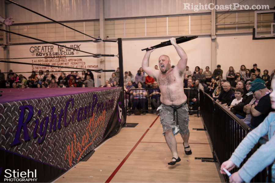 Wildlife William Fitz RCP27 RightCoastPro Wrestling Delaware entertainment