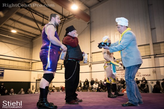 Hungry Match 1 Cadence RCP28 RightCoastPro Wrestling Delaware Event