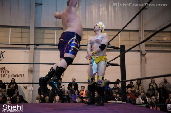 Hungry Match 11 Cadence RCP28 RightCoastPro Wrestling Delaware Event