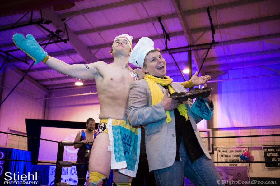 Hungry Match Cadence RCP28 RightCoastPro Wrestling Delaware Event