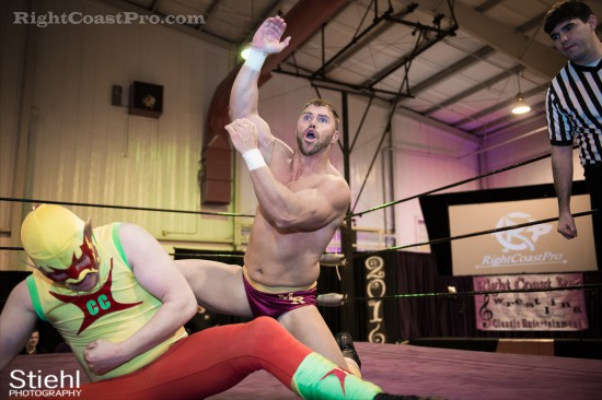 Upgrade Superhero 6 Cadence RCP28 RightCoastPro Wrestling Delaware Event