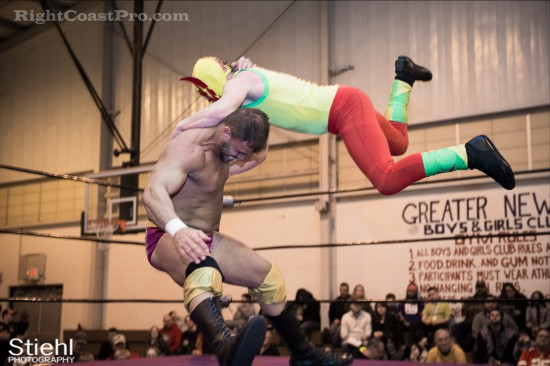 Upgrade Superhero 9 Cadence RCP28 RightCoastPro Wrestling Delaware Event