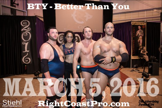 BTY CADENCE RCP28 RightCoastPro Wrestling Delaware Event